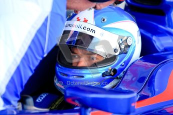 World © Octane Photographic Ltd./Chris Enion. GP2 British GP, Silverstone, Sunday 30th June 2013. Race 2. Jolyon Palmer - Carlin. Digital Ref : 0732ce1d9299