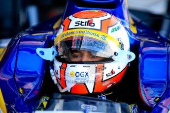 World © Octane Photographic Ltd./Chris Enion. GP2 British GP, Silverstone, Sunday 30th June 2013. Race 2 Felipe Nasr - Carlin. Digital Ref : 0732ce1d9304