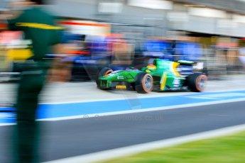 World © Octane Photographic Ltd./Chris Enion. GP2 British GP, Silverstone, Sunday 30th June 2013. Race 2 Sergio Canamasas – EQ8 Caterham Racing. Digital Ref : 0732ce1d9433