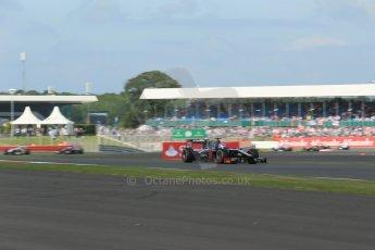 World © Octane Photographic Ltd. GP2 British GP, Silverstone, Sunday 30th June 2013. Race 2 Rene Binder - Venezuela GP Lazarus. Digital Ref : 0732lw1d1923