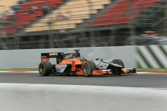 World © Octane Photographic Ltd. GP2 Spanish GP, Circuit de Catalunya, Saturday 11th May 2013. Qualifying. Adrian Quaife-Hobbs - MP Motorsport. Digital Ref :0662cb1d9725