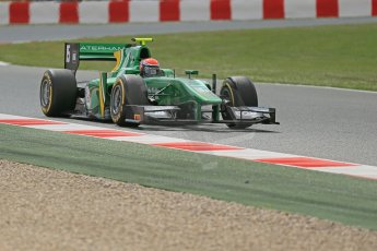 World © Octane Photographic Ltd. GP2 Spanish GP, Circuit de Catalunya, Friday 10th May 2013. Qualifying. Alexander Rossi - Caterham Racing. Digital Ref : 0662cb1d9899