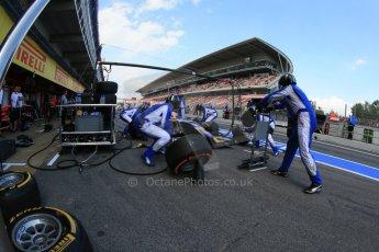 World © Octane Photographic Ltd. GP2 Spanish GP, Circuit de Catalunya, Saturday 11th May 2013. Race 1. Felipe Nasr - Carlin. Digital Ref : 0666cb1d1557