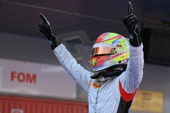 World © Octane Photographic Ltd. GP2 Spanish GP, Circuit de Catalunya, Saturday 11th May 2013. Race 1. Robin Frijns - Hilmer Motorsport. Digital Ref : 0666cb1d1663