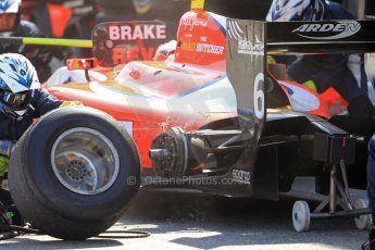 World © Octane Photographic Ltd. GP2 Spanish GP, Circuit de Catalunya, Saturday 11th May 2013. Race 1. Mitch Evans. – ART Grand Prix. Digital Ref: 0666cb7d9257