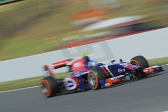 World © Octane Photographic Ltd. GP2 Spanish GP, Circuit de Catalunya, Sunday 12th May 2013. GP2 Race 2. Jolyon Palmer - Carlin. Digital Ref : 0670cb1d2220