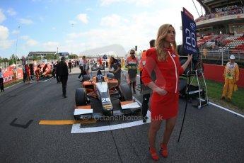 World © Octane Photographic Ltd. GP2 Spanish GP, Circuit de Catalunya, Sunday 12th May 2013. GP2 Race 2. Adrian Quaife-Hobbs - MP Motorsport. Digital Ref : 0670lw1d2151