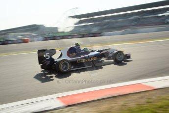 World © Octane Photographic Ltd. Saturday 6th July 2013. Dallara GP3/13 - German GP - Nurburgring - Qualifying. MW Arden – Robert Visolu. Digital ref : 0743lw1d3746