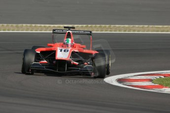 World © Octane Photographic Ltd. Saturday 6th July 2013. Dallara GP3/13 - German GP - Nurburgring - Qualifying. Marussia Manor Racing – Dino Zamparelli. Digital ref : 0743lw1d5945