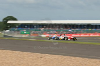 World © Octane Photographic Ltd. Saturday 29th June 2013. Dallara GP3/13 - British GP - Silverstone - Qualifying. ART Grand Prix – Facu Regalia. Digital ref : 0728lw1d1453