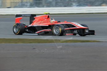 World © Octane Photographic Ltd. GP3 Testing - Wednesday 3rd April 2013 Dallara GP3/13 - Silverstone. Marussia Manor Racing – Nick Cassidy. Digital ref : 0627lw1d0523