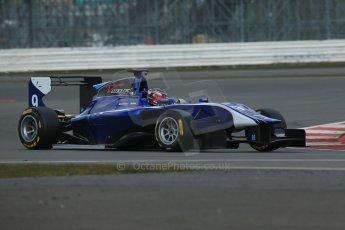 World © Octane Photographic Ltd. GP3 Testing - Wednesday 3rd April 2013 Dallara GP3/13 - Silverstone. Carlin – Eric Lichenstein. Digital ref : 0627lw1d0597