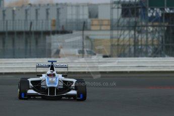 World © Octane Photographic Ltd. GP3 Testing - Wednesday 3rd April 2013 Dallara GP3/13 - Silverstone. Bamboo Engineering – Carmen Jorda. Digital ref : 0627lw1d0729