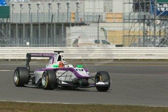World © Octane Photographic Ltd. GP3 Testing - Wednesday 3rd April 2013 Dallara GP3/13 - Silverstone. Status Grand Prix – Josh Webster. Digital ref : 0627lw1d0859