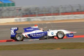 World © Octane Photographic Ltd. GP3 Testing - Wednesday 3rd April 2013 Dallara GP3/13 - Silverstone. Koiranen GP – Patrick Kujala. Digital ref : 0627lw7d3991