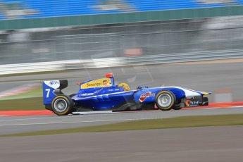World © Octane Photographic Ltd. GP3 Testing - Wednesday 3rd April 2013 Dallara GP3/13 - Silverstone. Carlin – Luis Sa Silva. Digital ref : 0627lw7d4114