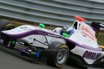 World © Octane Photographic Ltd. GP3 Testing - Thursday 4th April 2013 Dallara GP3/13 - Silverstone. Status Grand Prix – Jimmy Eriksson. Digital ref :