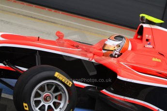 World © Octane Photographic Ltd. GP3 Testing - Thursday 4th April 2013 Dallara GP3/13 - Silverstone. Marussia Manor Racing – Nick Cassidy. Digital ref :
