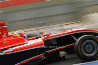 World © Octane Photographic Ltd. GP3 Testing - Thursday 4th April 2013 Dallara GP3/13 - Silverstone. Marussia Manor Racing – Tio Ellinas. Digital ref :