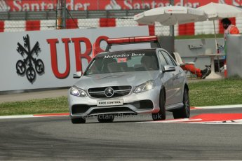 World © Octane Photographic Ltd. GP3 Qualifying - Saturday 11th May 2013 Circuit de Catalunya. Mercedes Race Control Car. Digital ref : 0669cb1d0300