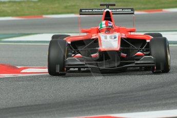 World © Octane Photographic Ltd. GP3 Qualifying - Saturday 11th May 2013 Dallara GP3/13 - Circuit de Catalunya. Marussia Manor Racing – Dino Zamparelli. Digital ref : 0669cb1d0328
