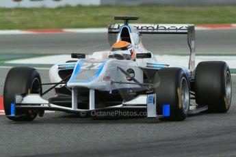 World © Octane Photographic Ltd. GP3 Qualifying - Saturday 11th May 2013 Dallara GP3/13 - Circuit de Catalunya. Bamboo Engineering – Carmen Jorda. Digital ref : 0669cb1d0362