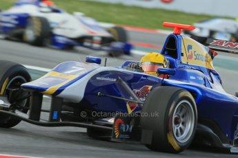 World © Octane Photographic Ltd. GP3 Qualifying - Saturday 11th May 2013 Dallara GP3/13 - Circuit de Catalunya. Carlin – Luis Sa Silva. Digital ref : 0669cb1d0493