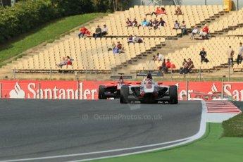 World © Octane Photographic Ltd. GP3 Qualifying - Saturday 11th May 2013 Dallara GP3/13 - Circuit de Catalunya. ART Grand Prix – Jack Harvey and Marussia Manor Racing – Dino Zamparelli. Digital ref : 0669cb1d0606