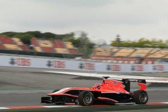 World © Octane Photographic Ltd. GP3 Qualifying - Saturday 11th May 2013 Dallara GP3/13 - Circuit de Catalunya. Marussia Manor Racing – Dino Zamparelli. Digital ref : 0669cb7d9028