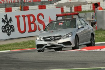 World © Octane Photographic Ltd. GP3 Qualifying - Saturday 11th May 2013 Circuit de Catalunya. Mercedes Race Control Car. Digital ref : 0669lw1d0298