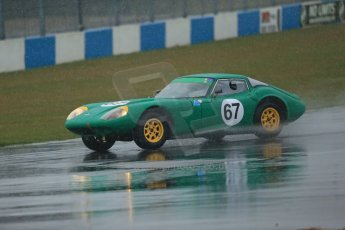 World © Octane Photographic Ltd. Donington Park 80th Anniversary Meeting (March 1933 – March 2013). HSCC Guards Trophy Car Championship supported by Dunlop Tyres. Andrew Smith/Tom Smith – Marcos 1800GT. Digital Ref : 0600lw1d5975