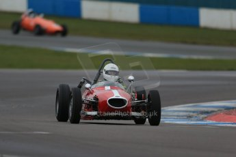 World © Octane Photographic Ltd. Donington Park 80th Anniversary Meeting (March 1933 – March 2013). HSCC/FJHRA Historic Formula Junior Championship – Race A Front Engine, morning practice and qualifying. Digital Ref : 0598lw1d5194