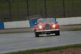 World © Octane Photographic Ltd. Donington Park 80th Anniversary Meeting (March 1933 – March 2013). HSCC 70s Road Sport Championship (Inc. Class B2 Guards Trophy). Philip Goddard – Morgan Plus 8. Digital Ref : 0590lw1d6092