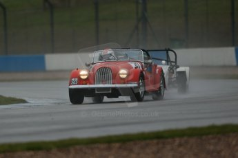 World © Octane Photographic Ltd. Donington Park 80th Anniversary Meeting (March 1933 – March 2013). HSCC 70s Road Sport Championship (Inc. Class B2 Guards Trophy). Philip Goddard – Morgan Plus 8. Digital Ref : 0590lw1d6187