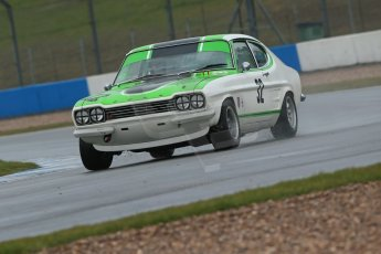 World © Octane Photographic Ltd. Donington Park 80th Anniversary Meeting (March 1933 – March 2013). HSCC 70s Road Sport Championship (Inc. Class B2 Guards Trophy). Nic Strong – Ford Capri. Digital Ref : 0590lw1d6297