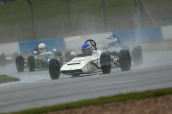 World © Octane Photographic Ltd. Donington Park 80th Anniversary Meeting (March 1933 – March 2013). HSCC Historic Formula Ford Championship in association with Avon Tyres. Rob Wainwright – Elden Mk.8. Digital Ref : 0591lw1d6359