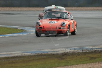 World © Octane Photographic Ltd. Donington Park 80th Anniversary Meeting (March 1933 – March 2013). HSCC Historic Road Sports Championship supported by Witchampton Garage (Inc. Class B2 Guards Trophy). John Shaw – Porsche 911 and Paul Latimer – MGB. Digital Ref : 0594lw1d6952