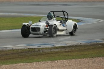 World © Octane Photographic Ltd. Donington Park 80th Anniversary Meeting (March 1933 – March 2013). HSCC Historic Road Sports Championship supported by Witchampton Garage (Inc. Class B2 Guards Trophy). Steve Hodges – Lotus 7 Series 2. Digital Ref : 0594lw1d6958