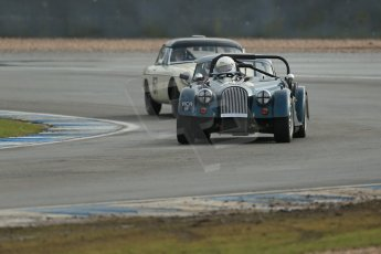 World © Octane Photographic Ltd. Donington Park 80th Anniversary Meeting (March 1933 – March 2013). HSCC Historic Road Sports Championship supported by Witchampton Garage (Inc. Class B2 Guards Trophy). Roddie Feilden – Morgan Plus 8. Digital Ref : 0594lw1d6995