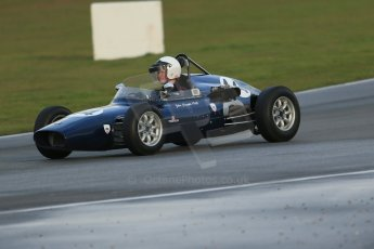 World © Octane Photographic Ltd. Donington Park 80th Anniversary Meeting (March 1933 – March 2013). HSCC/FJHRA Historic Formula Junior Championship – Race B, Rear Engine cars, Classes C-E. Andrew Robertson – Crossle 4F. Digital Ref : 0596lw1d7263