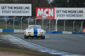 World © Octane Photographic Ltd. Donington Park 80th Anniversary Meeting (March 1933 – March 2013). HSCC Guards Trophy Car Championship supported by Dunlop Tyres. Craig Davies – Chevrolet Corvette. Digital Ref : 0597lw1d7565