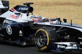 World © Octane Photographic Ltd. F1 Hungarian GP - Hungaroring. Friday 26th July 2013. F1 Practice 2. Williams FW35 - Pastor Maldonado. Digital Ref : 0760lw1d2098