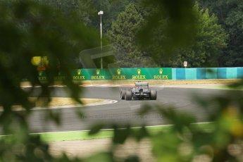 World © Octane Photographic Ltd. F1 Hungarian GP - Hungaroring. Saturday 27th July 2013. F1 Qualifying. Sauber C32 - Esteban Gutierrez. Digital Ref : 0764lw1d1152
