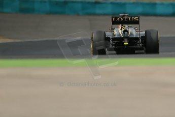 World © Octane Photographic Ltd. F1 Hungarian GP - Hungaroring. Saturday 27th July 2013. F1 Qualifying. Lotus F1 Team E21 - Romain Grosjean. Digital Ref : 0764lw1d4050