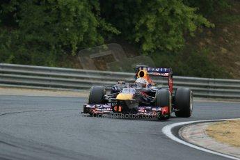 World © Octane Photographic Ltd. F1 Hungarian GP - Hungaroring. Saturday 27th July 2013. F1 Qualifying. Infiniti Red Bull Racing RB9 - Sebastian Vettel. Digital Ref : 0764lw1d4209