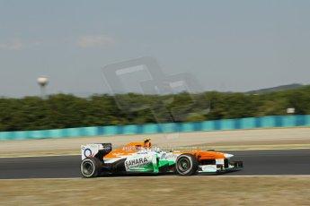 World © Octane Photographic Ltd. F1 Hungarian GP - Hungaroring, Saturday 27th July 2013 - Practice 3. Sahara Force India VJM06 - Adrian Sutil. Digital Ref : 0763lw1d0804