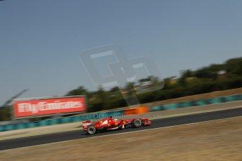 World © Octane Photographic Ltd. F1 Hungarian GP - Hungaroring, Saturday 27th July 2013 - Practice 3. Scuderia Ferrari F138 - Fernando Alonso. Digital Ref : 0763lw1d0979