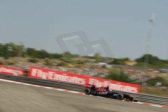 World © Octane Photographic Ltd. F1 Hungarian GP - Hungaroring, Saturday 27th July 2013 - Practice 3. Scuderia Toro Rosso STR8 - Jean-Eric Vergne. Digital Ref : 0763lw1d1014