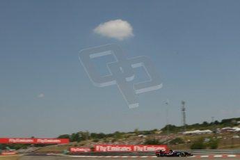 World © Octane Photographic Ltd. F1 Hungarian GP - Hungaroring, Saturday 27th July 2013 - Practice 3. Scuderia Toro Rosso STR 8 - Daniel Ricciardo. Digital Ref : 0763lw1d1097