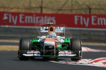 World © Octane Photographic Ltd. F1 Hungarian GP - Hungaroring, Saturday 27th July 2013 - Practice 3. Sahara Force India VJM06 - Adrian Sutil. Digital Ref : 0763lw1d3313